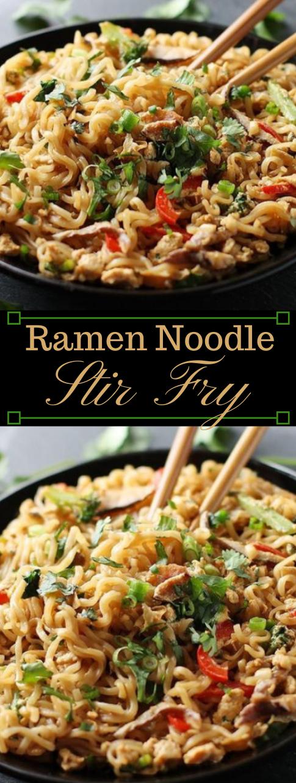 RAMEN NOODLE STIR FRY #ramen #vegetarian  #noodle #recipes #healthy