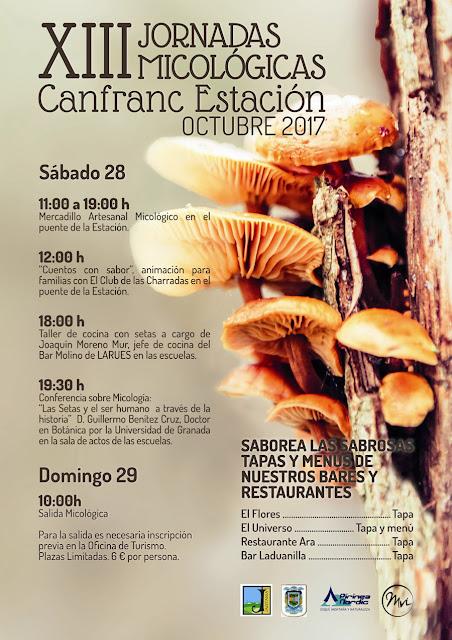 las Jornadas Micológicas de Canfranc 2017