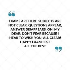 Quotes On Exams