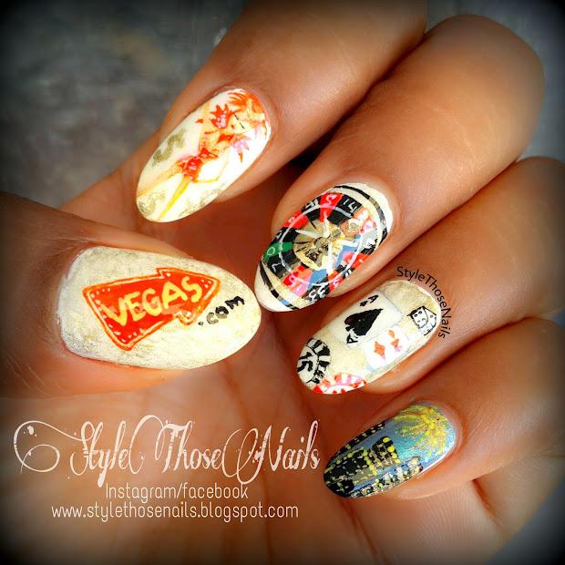 style nails night