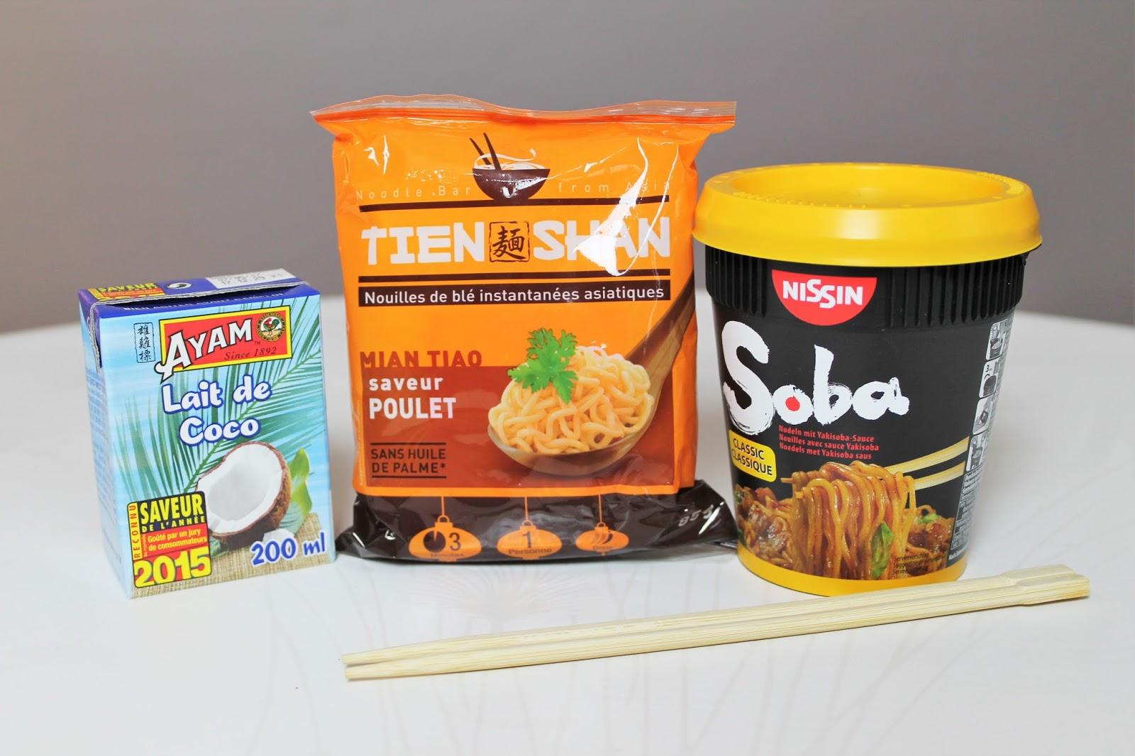 degustabox box food fevrier 2016 code promo bon plan reduc parrainage offert parrain nouilles asiatiques soba coco