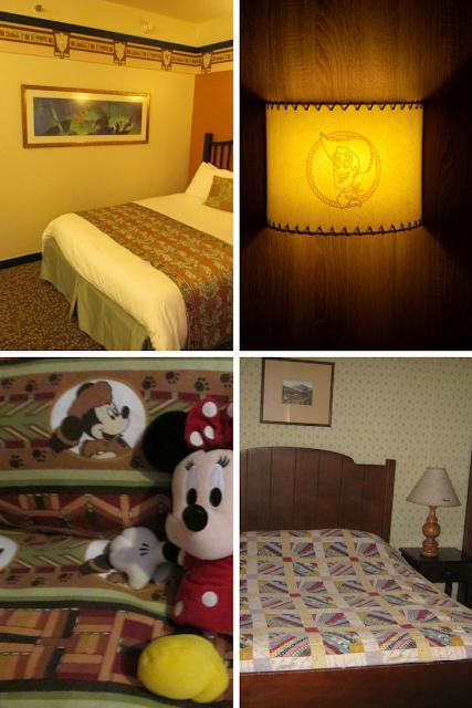 Hotel room, top 4 things I take photos of at Disneyland Paris