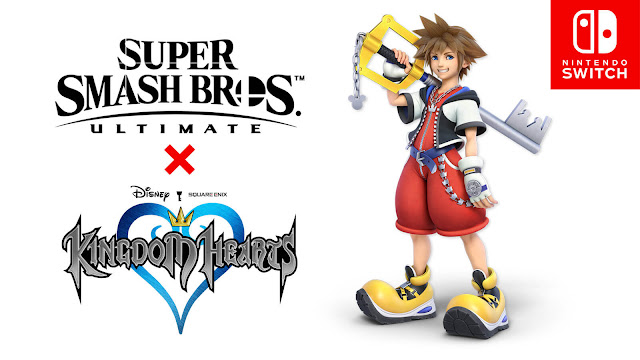 super smash bros. ultimate fighters pass vol. 2 bandai namco studios nintendo switch ssbu direct masahiro sakurai sora kingdom hearts