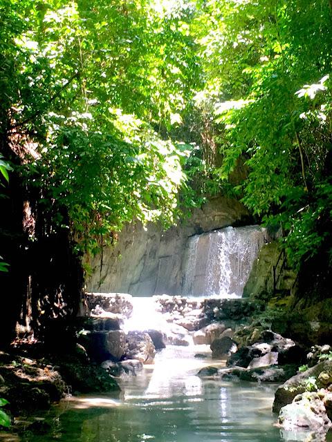 Binalayan Falls aka Triple Drop Falls aka Hidden Falls Samboan Cebu
