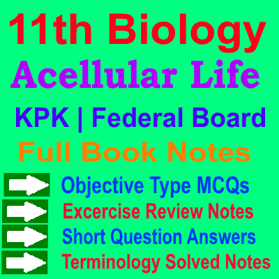 11 Class Biology Notes | Acellular Life - Solve-MCQs