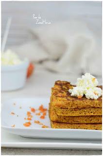 Tarta de zanahoria con queso