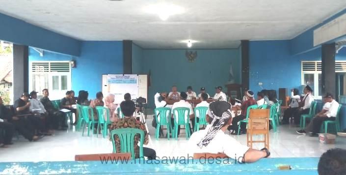Berikut Hasil Rekapitulasi Penghitungan Suara Pilkades Desa Masawah Tahun 2019