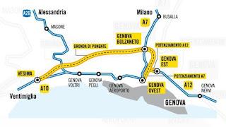 Gronda di Genova, online analisi costi benefici e analisi giuridica