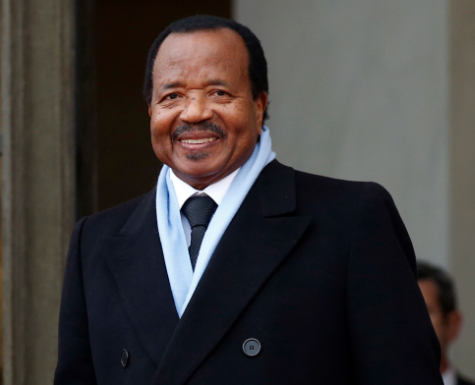President Paul Biya of Cameroon marks 35 years in power