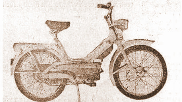 Moped Innocenti Lambrettino 39cc