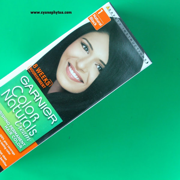 (Sponsored) Review Garnier Color Naturals - #1 Natural Black #Mythbuster