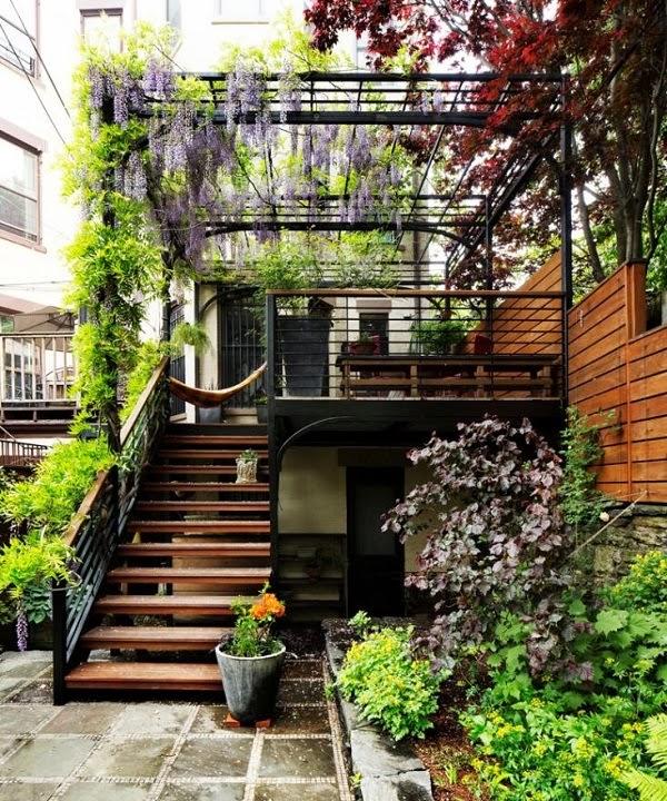 Antes y despu s un jard n trasero en brooklyn guia de for Casa jardin de la plata