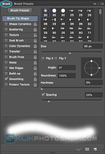 fungsi panel brush photoshop