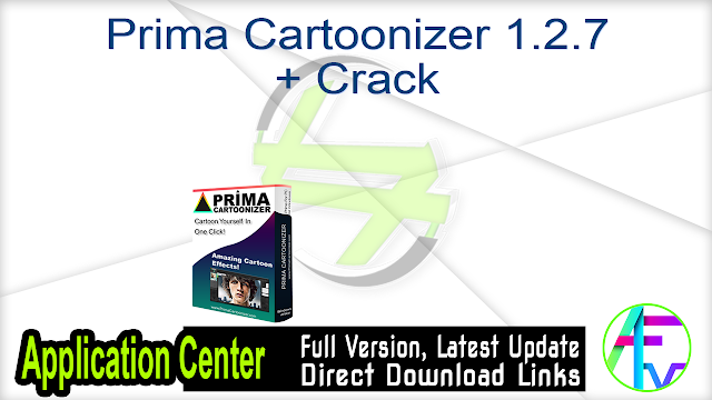 Prima Cartoonizer 1.2.7 + Crack