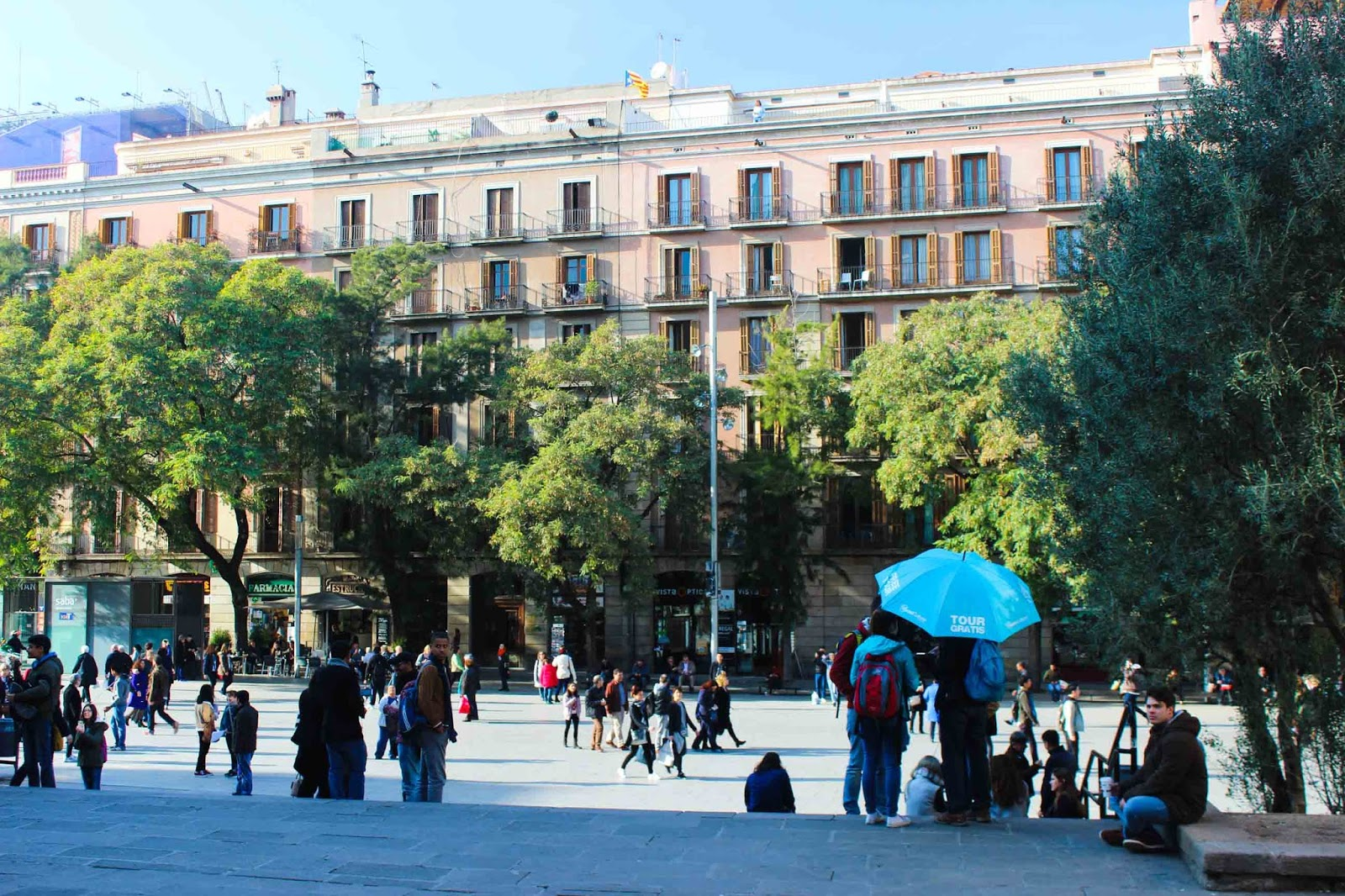 Barcelona City Break Free walking tour