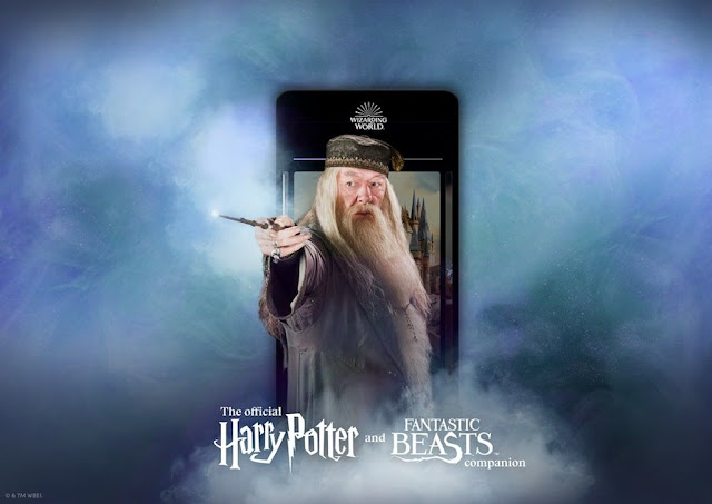 The Wizarding World app - Dumbledore