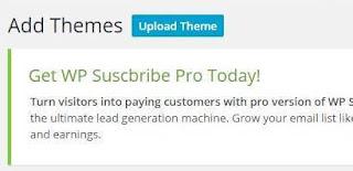 Cara Mengganti atau Upload Theme Wordpress