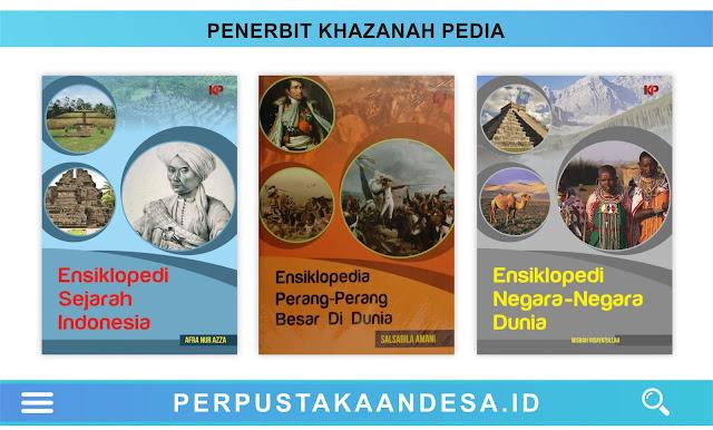 Daftar Judul Buku-Buku Penerbit KHAZANAH-PEDIA