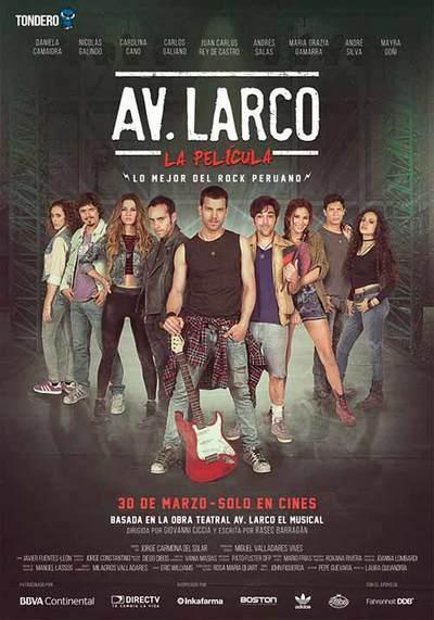 Av. Larco, la película [2017] [DVDR] [NTSC] [Latino]