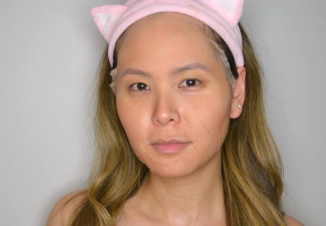 MasqueBAR Naturals Rose Sheet Mask Selfie