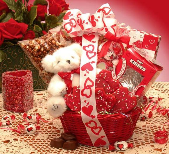 Valentijnsdag geschenk Manden