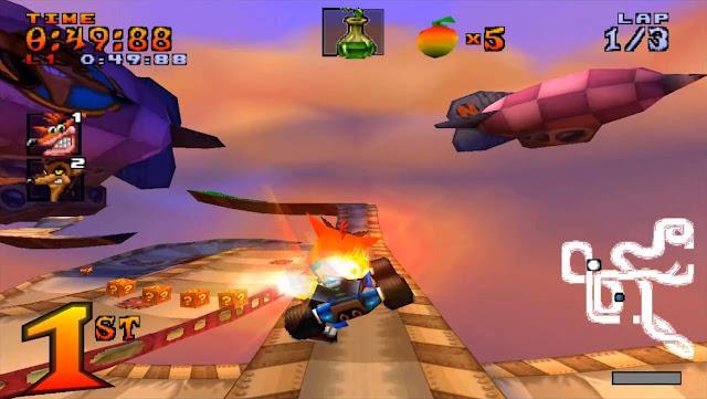 تحميل لعبة كراش تيم رسينغ Crash Team Racing