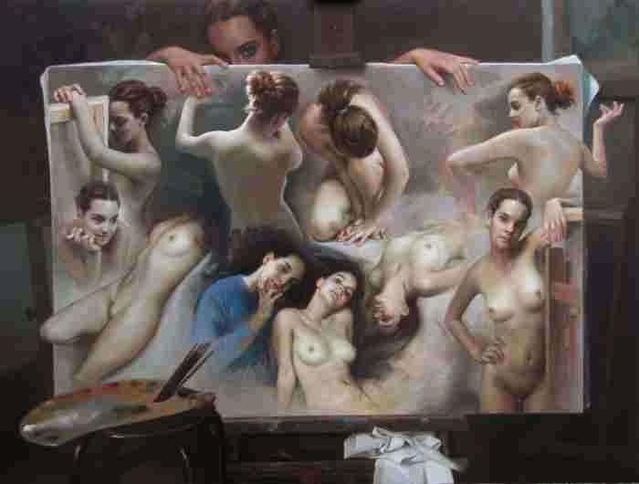 Современный португальский художник. Antonio Macedo