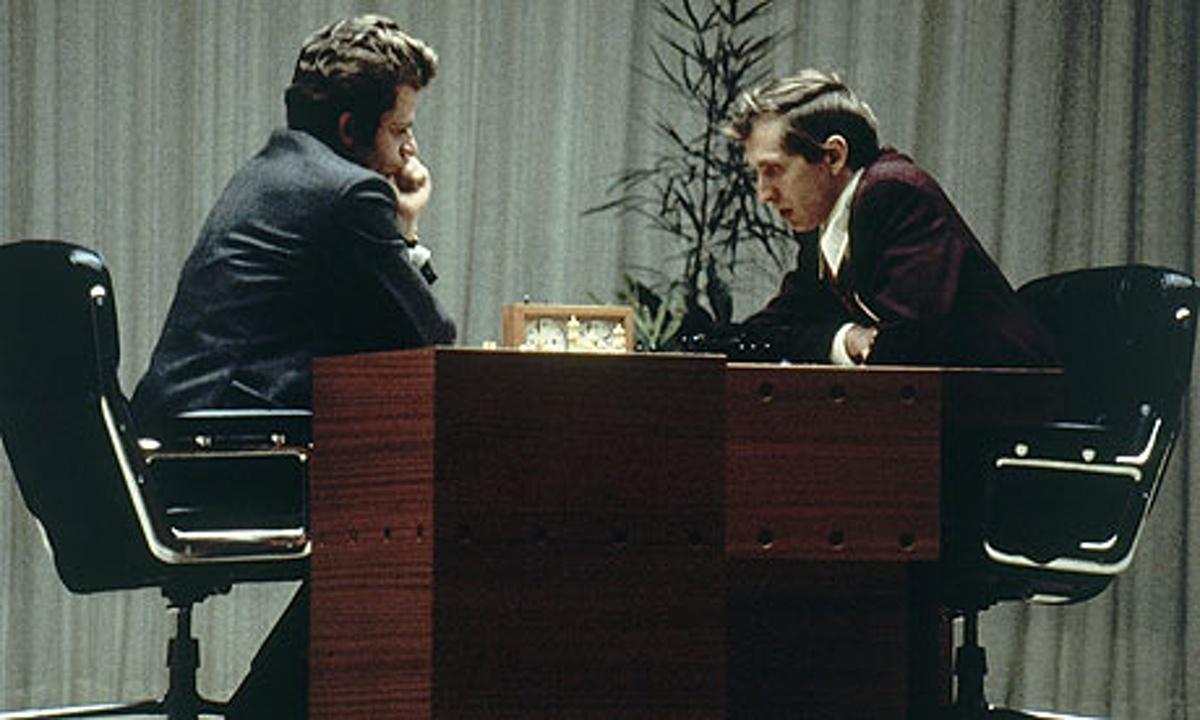 Bobby Fischer y Boris Spassky 1972