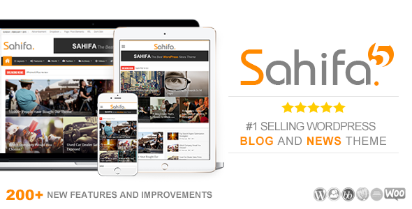 Free Download Sahifa V5.5.1 Responsive WordPress News / Magazine / Newspaper Theme