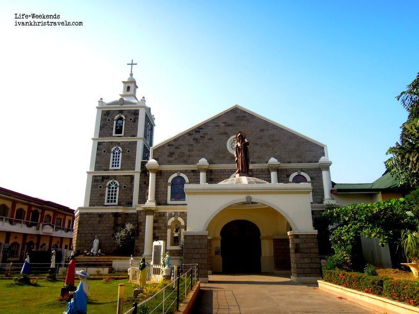 Facade of St. Anthony Abbot Parish Church in San Antonio, Nueva Ecija
