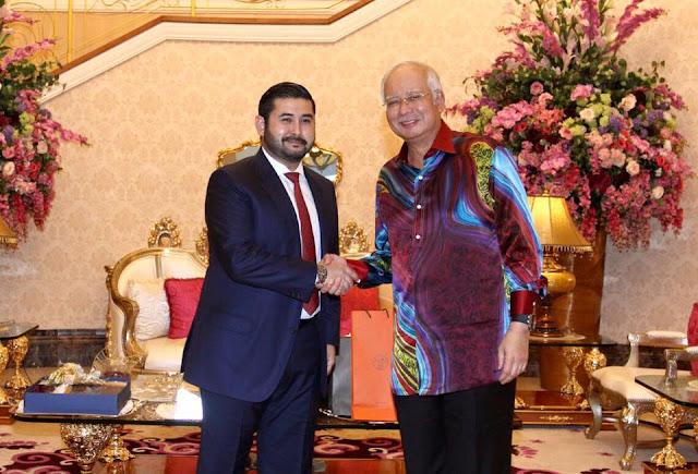 Najib Terima Kunjungan TMJ Di Putrajaya