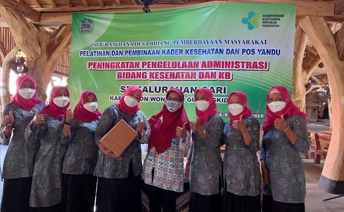 Tingkatkan Kapasitas, Kader IMP Gari, Wonosari Ikuti Pelatihan Pengelolaan Administrasi Program Bangga Kencana