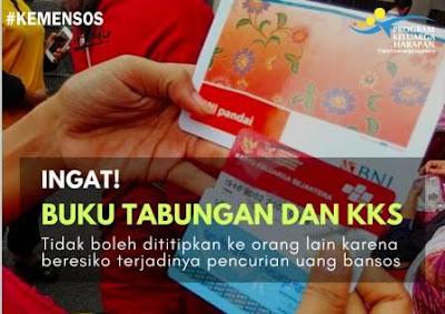 Buku Tabungan dan KKS Milik Pribadi KPM PKH, Jangan Dititipkan Sama Orang Lain !
