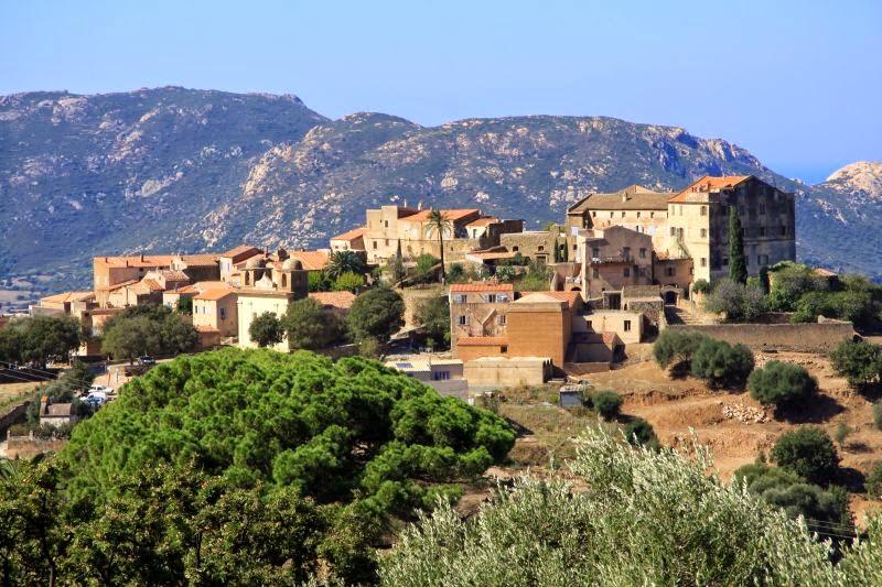 Village de Pigna en Balagne