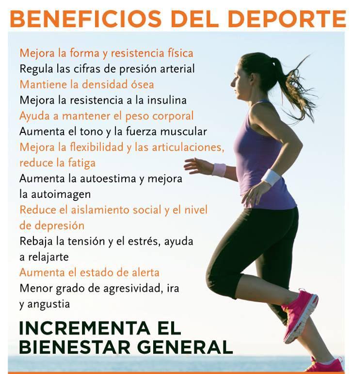 la actividad fisica como el deporte ayuda mucho a la salud