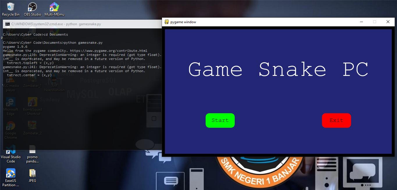 game snake python