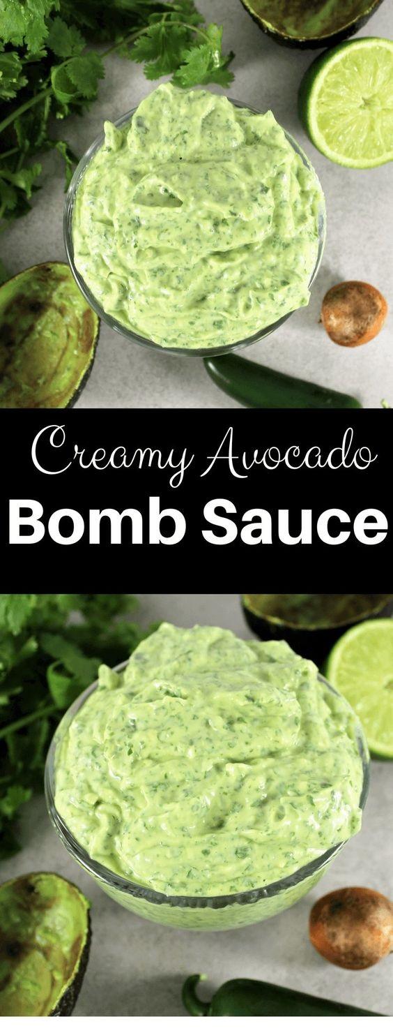 Creamy Avocado Bomb Sauce