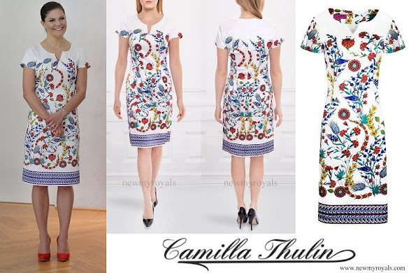 Crown Princess Victoria wore CAMILLA THULIN Angela Tulpan Dress