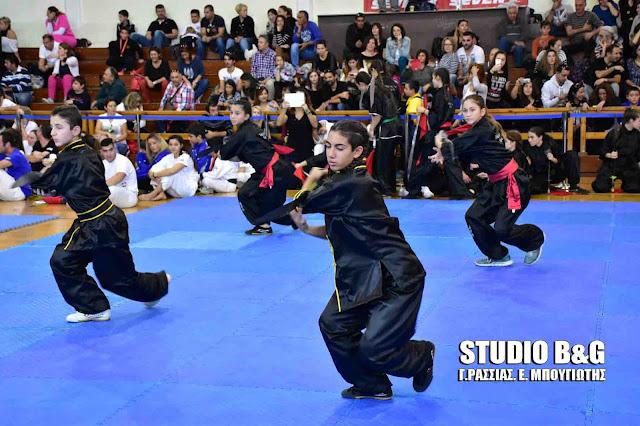 Με επιτυχία το 11ο Παλαμήδειο Πρωτάθλημα πολεμικών τεχνών στο Ναύπλιο (βίντεο)