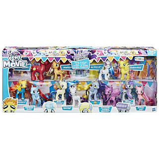 My Little Pony the Movie Friendship Festival Party Friends Set Brushables