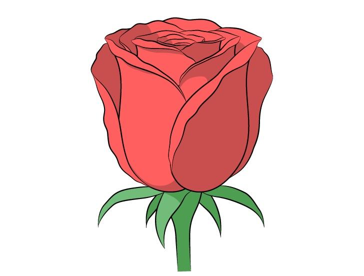 Gambar mawar