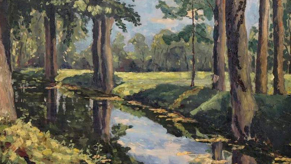 "Winston Churchill ""The Moat, Breccles"" 1921"