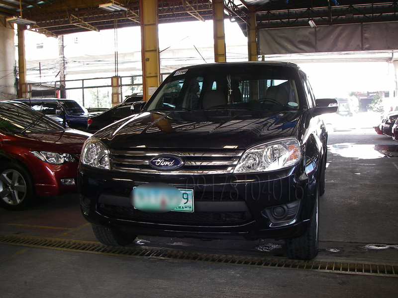 cars for sale in the philippines 2010 ford escape xls automatic. Black Bedroom Furniture Sets. Home Design Ideas