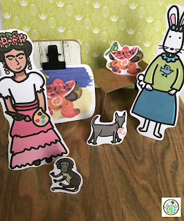 Frida Kahlo Photo Prompt for World Language