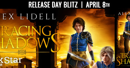 Release Day for Tracing Shadows by Alex Lidell