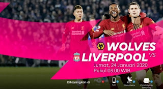 streaming Wolves vs Liverpool