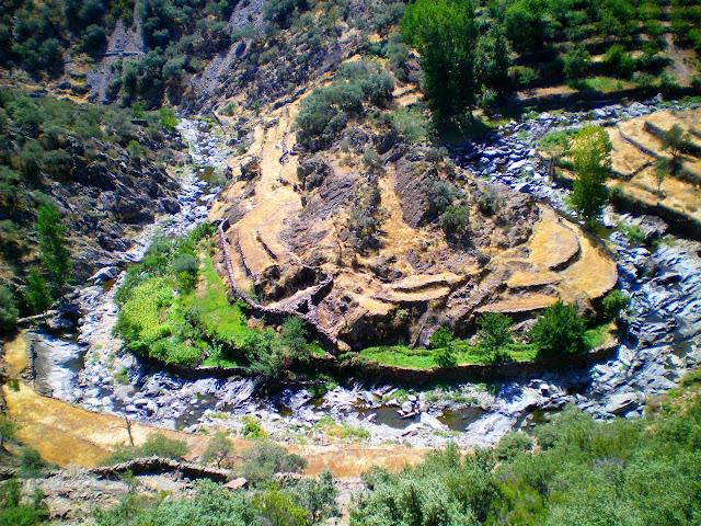 Meandro del río Malvedillo, provincia de Cáceres - Las Hurdes