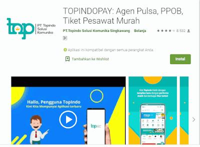 Aplikasi Topindopay