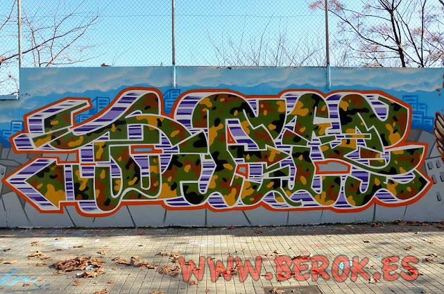 Dam Trs Barcelona graffitis