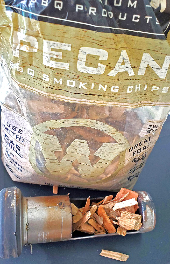 these are pecan smoking chips for an electric smoker